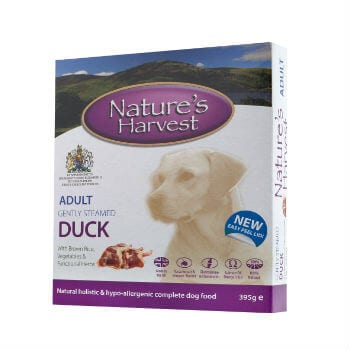 natures harvest adult duck and chicken