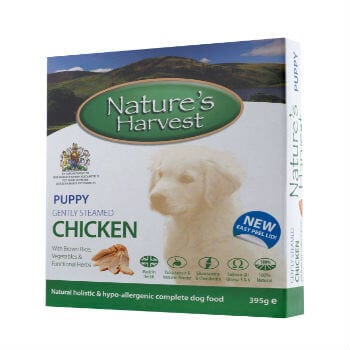 natures harvest puppy chicken